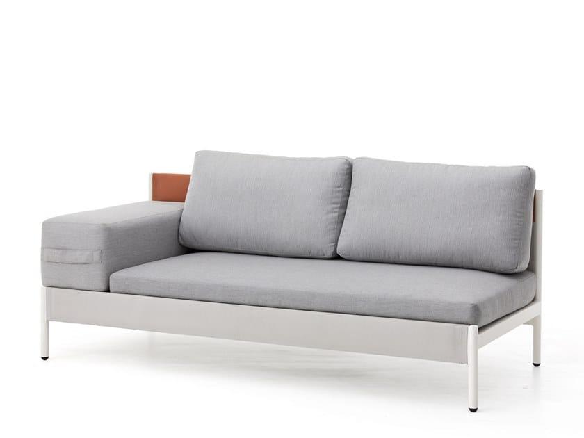 Modular garden sofa with removable cover LEGO | Garden sofa with removable cover by Kun Design