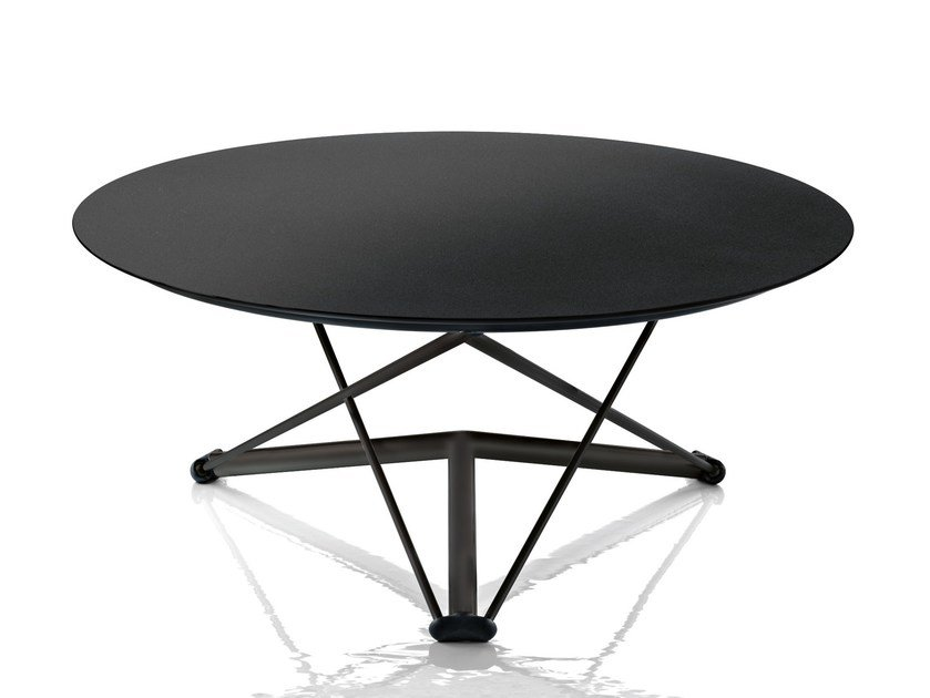 Height-adjustable round table LEM by Magis
