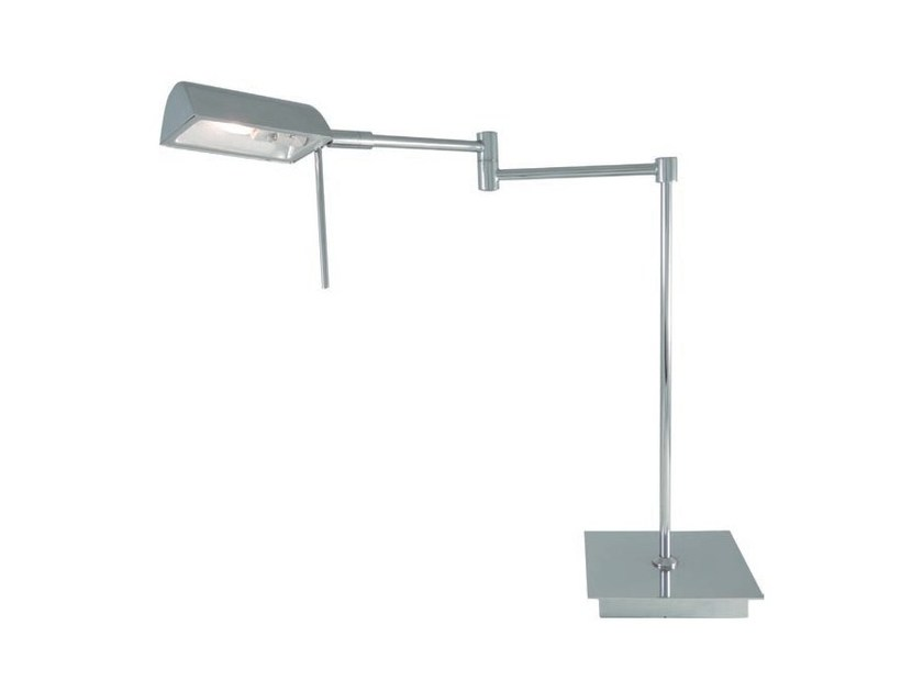 Direct light adjustable metal table lamp LENG | Table lamp by Aromas del Campo