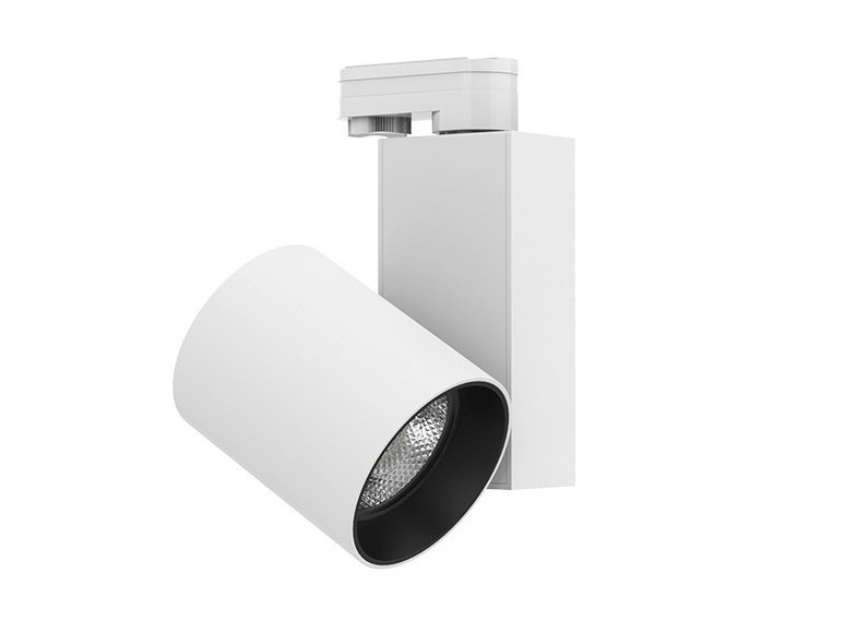 LED aluminium Track-Light LENS by LANZINI