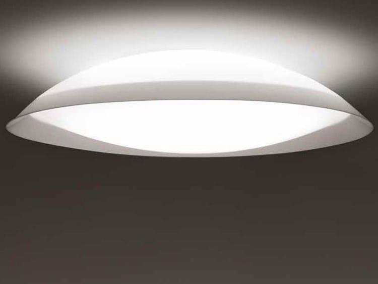 RGB methacrylate ceiling lamp LENS   RGB ceiling lamp by ALMA LIGHT