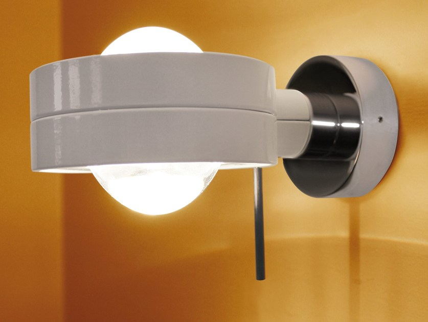 Adjustable wall light LENS WALL by Top Light