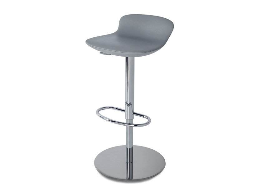 ABS stool with gas lift with footrest LEO GAS by Casprini