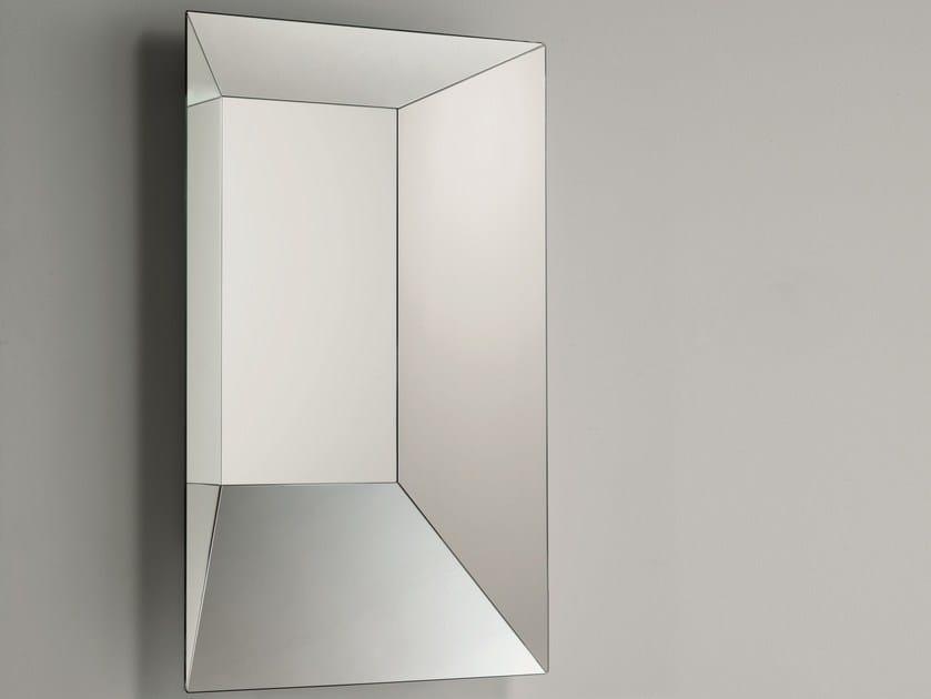 Specchio rettangolare da parete LEON BATTISTA By Glas Italia design ...
