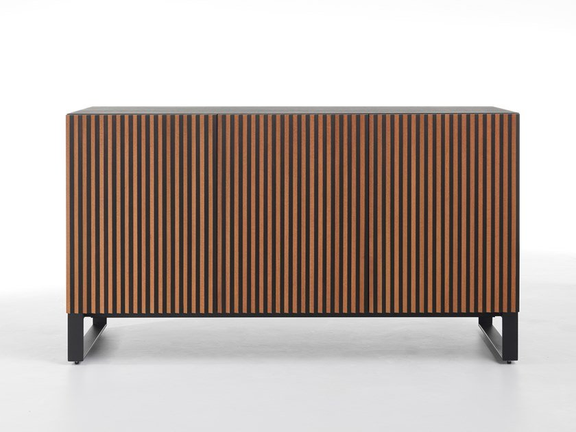 Wooden sideboard with doors LEON WOOD by Casamania & Horm