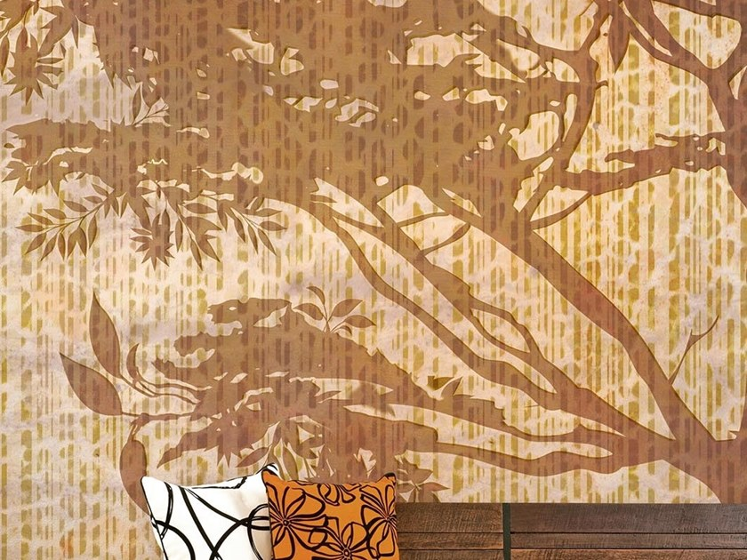 Tropical wallpaper, PVC free, eco, washable LEOPARD TREE by Wallpepper