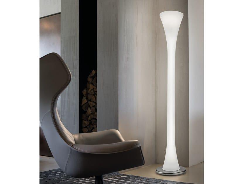 Murano glass floor lamp LEPANTO PT by Vetreria Vistosi