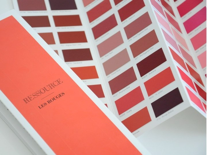 Decorative painting finish LES ROUGES by Ressource