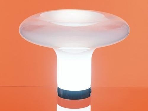 Murano glass table lamp LESBO by Artemide