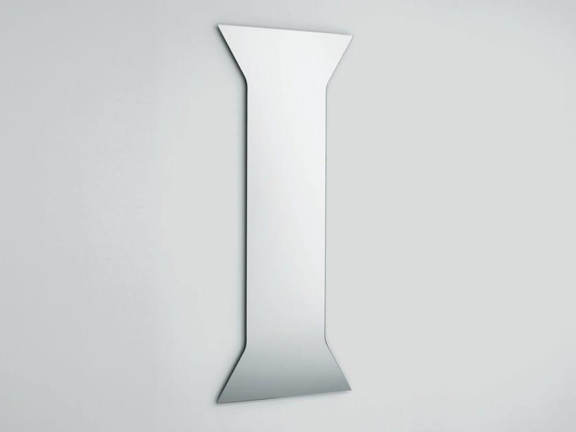 Wall-mounted mirror LESENA by Glas Italia