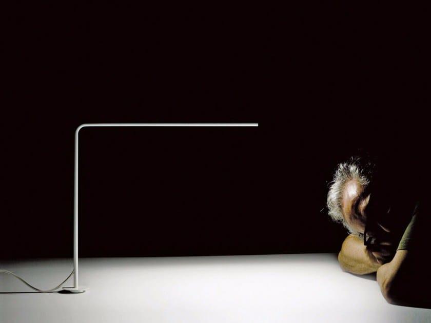 LED metal table lamp LESS FOR LESS by DAVIDE GROPPI