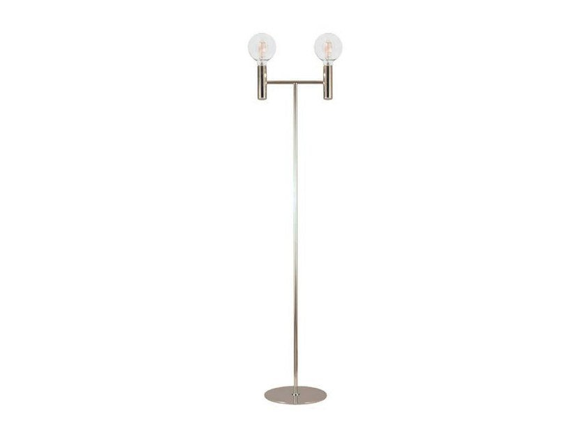 LESS | Metal floor lamp By Aromas del Campo