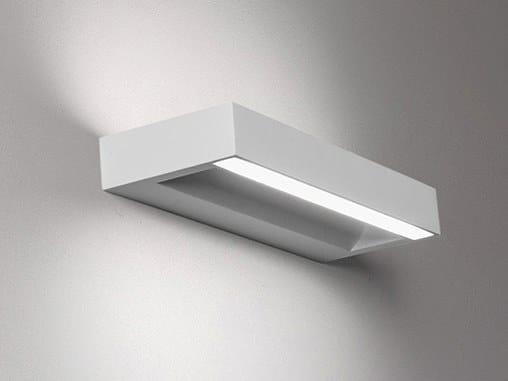 Lampada da parete in gesso leukas by sforzin design blank design studio