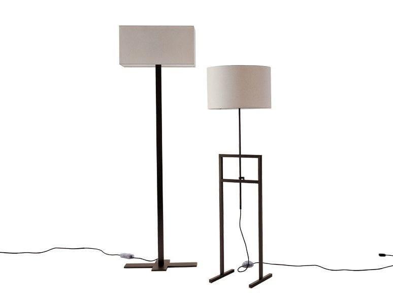 Fabric floor lamp LEUKON | Floor lamp by Maxalto