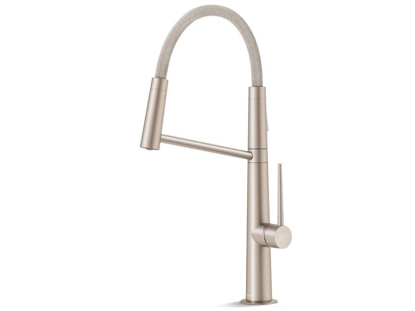 1 hole kitchen mixer tap with flow limiter LEVANTE KVADRAT by Nobili Rubinetterie