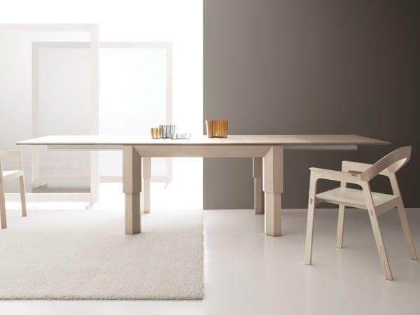 Tavoli Regolabili In Altezza E Allungabili.Levante By Bauline Design Enzo Berti