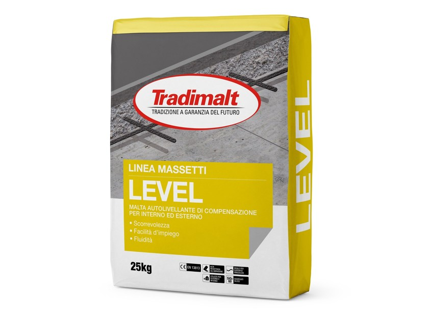 Self-levelling mortar LEVEL by TRADIMALT
