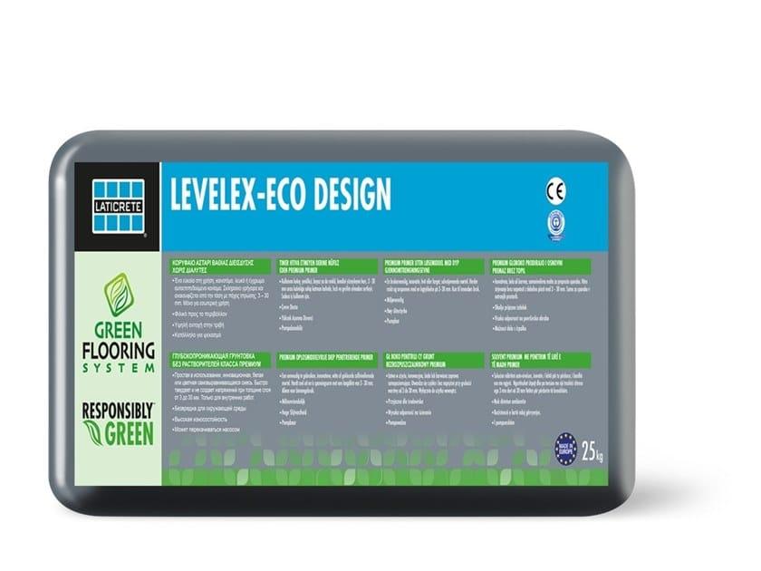 Self-levelling mortar LEVELEX-ECO® DESIGN by LATICRETE