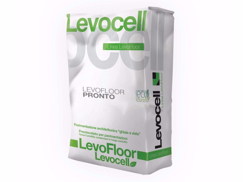 Pre-mixed structural concrete LEVOFLOOR PRONTO by Levocell by Ruredil
