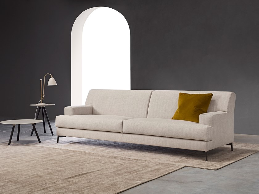 3 seater sofa with removable cover LEWIS | Sofa by Metraform