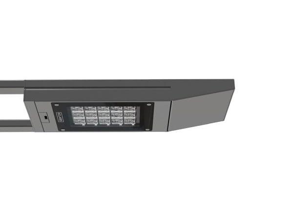 Testa palo a LED in alluminio LEXIK by GHM-ECLATEC