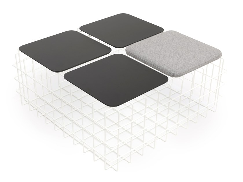 Iron stool / coffee table LEYVA PLUS by Saba Italia