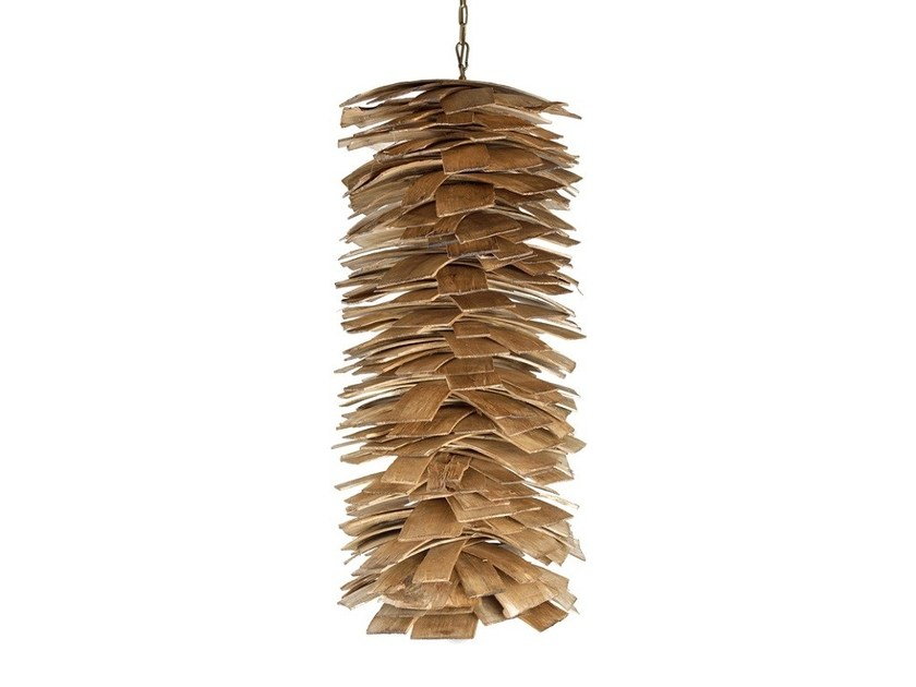 Multi-layer wood pendant lamp LGH0246 | Direct light pendant lamp by Gie El Home