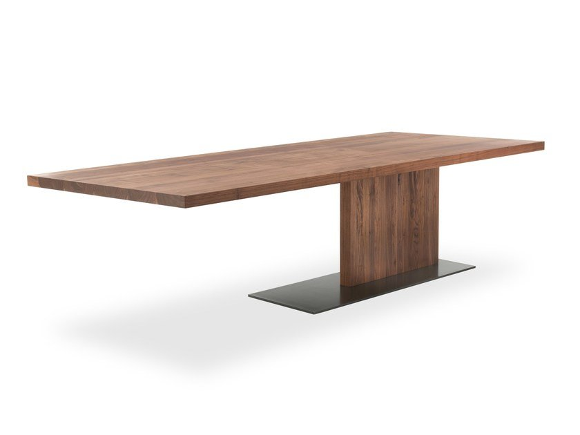 Rectangular Solid Wood Table Liam By Riva 1920