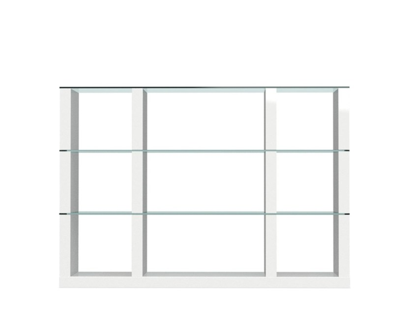 Open sectional bookcase LIB | Modular bookcase by Calligaris