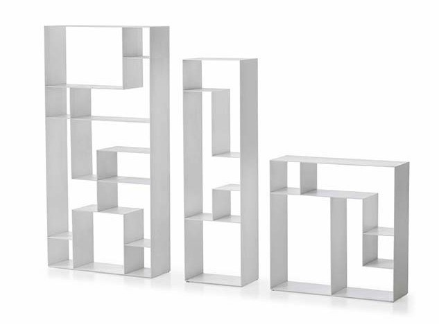 Open sectional bookcase LIB_RIS by Busnelli