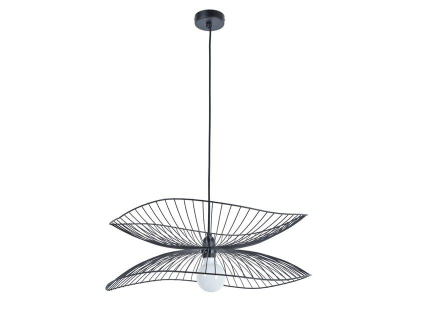 Metal pendant lamp LIBELLULE by Forestier
