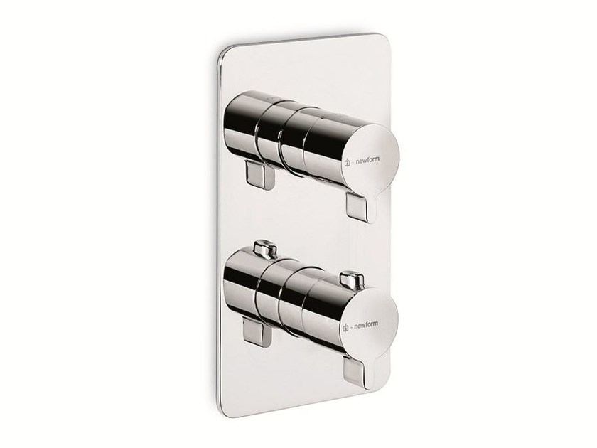 Thermostatic thermostatic shower mixer LIBERA | Thermostatic shower mixer by newform