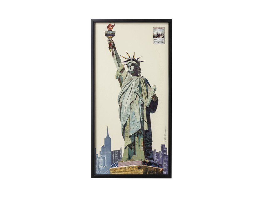 Decorative painting LIBERTY by KARE-DESIGN