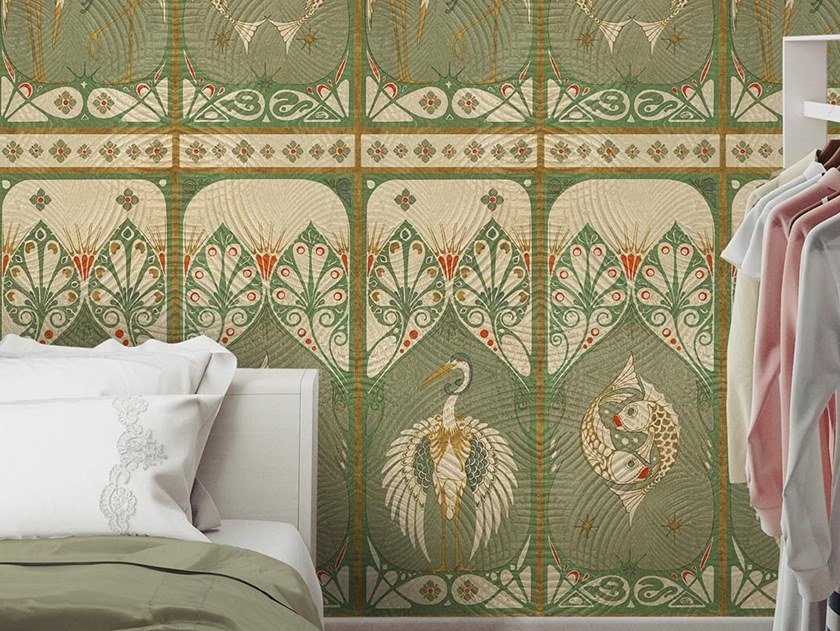 Classic but contemporary wallpaper, PVC free, eco, washable LIBERTY by Wallpepper Group