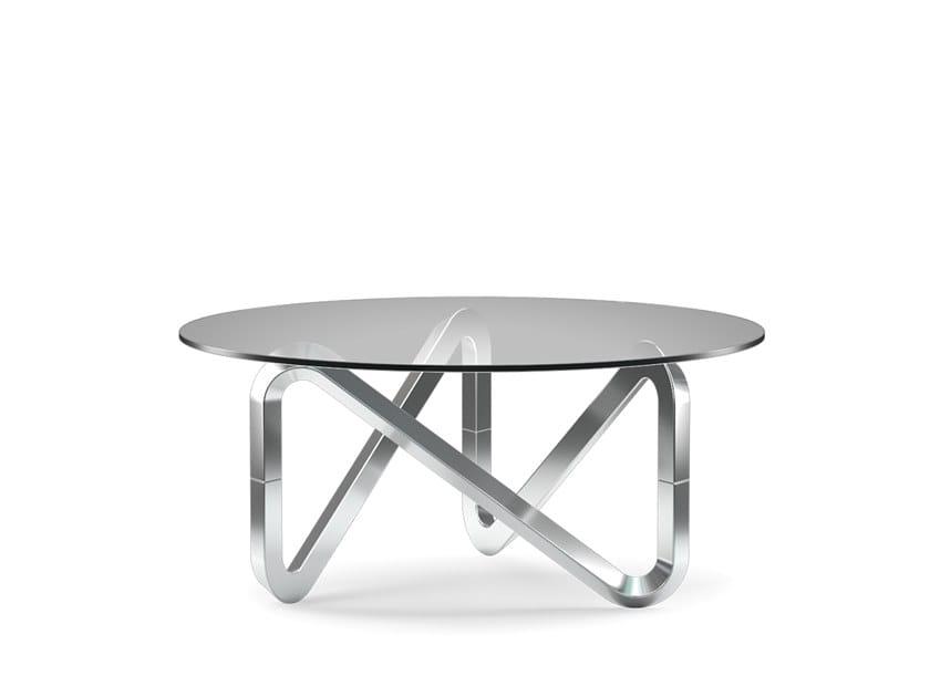 Tavolino da caffè in alluminio LIBRA | Tavolino in alluminio by KUBIKOFF