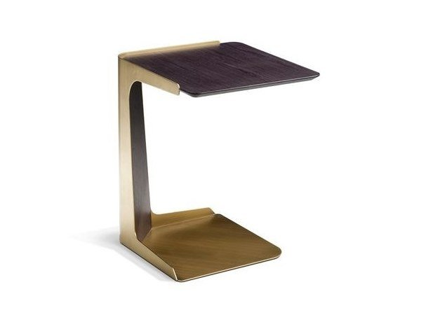 Lacquered square side table LIBRETTO | Side table by ROCHE BOBOIS
