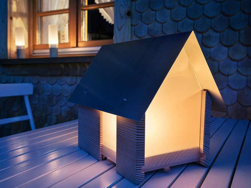 Spruce lantern LICHTHAUS by designimdorf