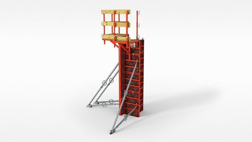 LICO PERI LICO - La cassaforma a telaio leggera ed economica, per operare senza gru