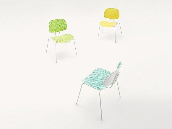 Garden chair LIDO | Chair by paola lenti