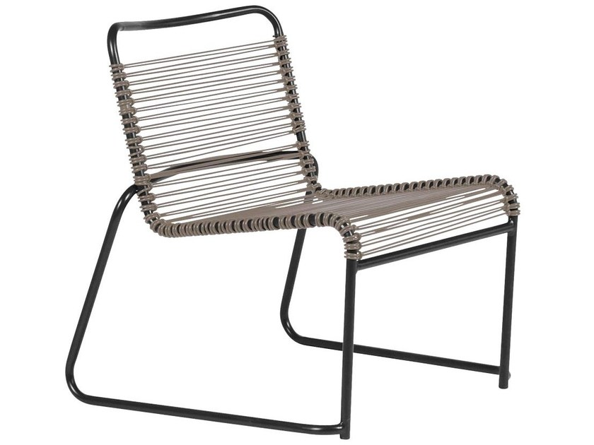 Sled base garden armchair LIDO | Sled base easy chair by FIAM