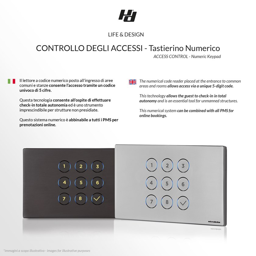 Building automation system for hotel LIFE&DESIGN by Microdevice