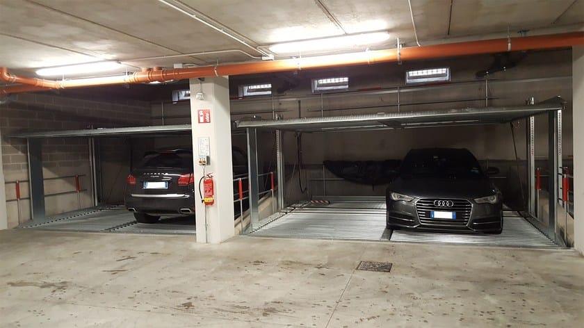 Automatic parking systems LIFTPARKER,KIPPARKER E QUADROPARKER by GREEN PARK