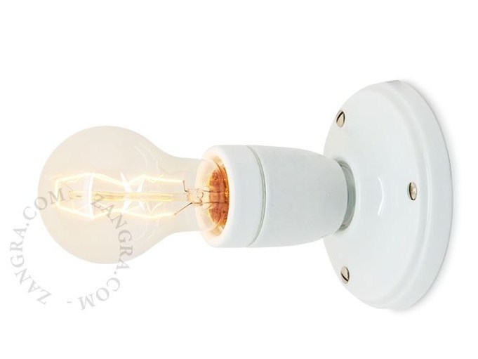 Porcelain wall lamp / ceiling lamp LIGHT 019 | Wall lamp by ZANGRA