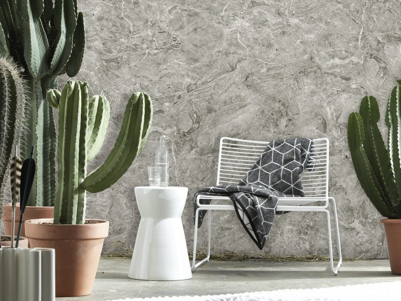 Washable panoramic wallpaper with marble effect LIGHT GRAY BRECCIA ONICIATA MARBLE | Panoramic wallpaper by Koziel