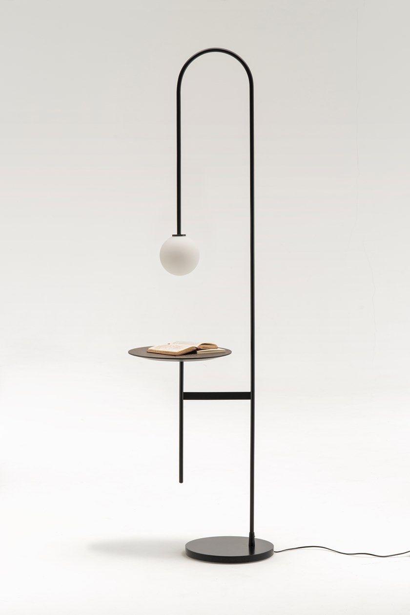 Con Light Da Living Lampada Table Tavolino Terra Divani A With rWexdoBC