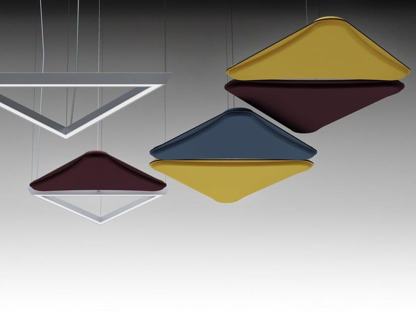 A Sospensione Led LightsoundLampada Alluminio In Quadrifoglio sCBtxdhQr