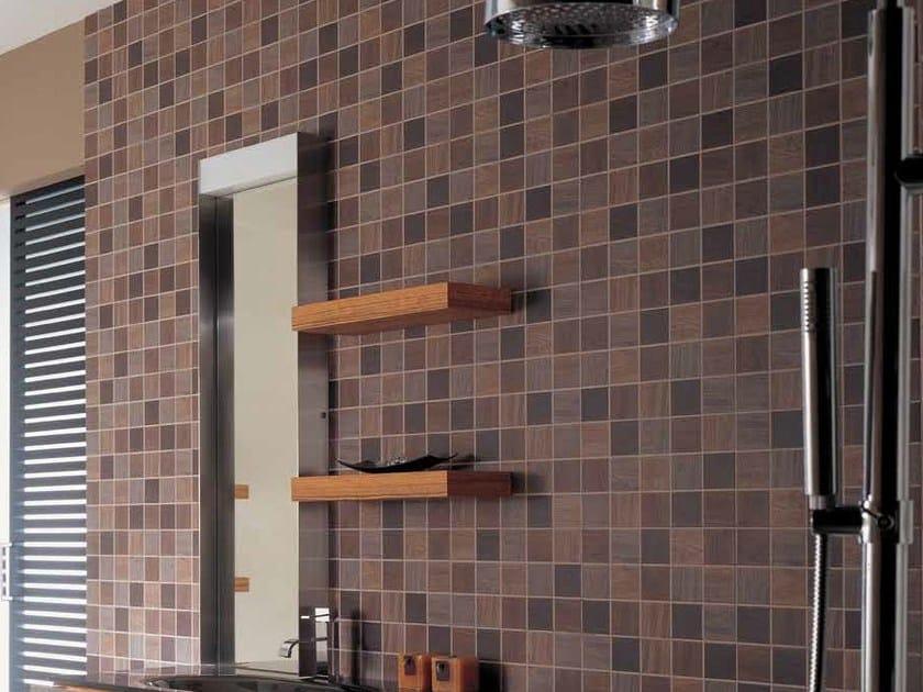 Indoor ceramic wall tiles LIGNUM by Venis