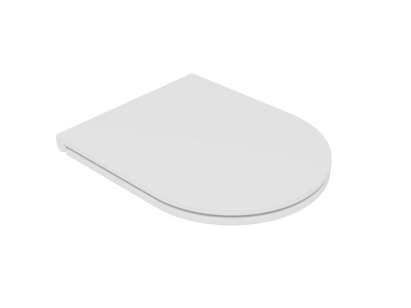 Sedile sottile LIKE COPRIVASO SOTTILE   Bianco lucido by GSG Ceramic Design Srl