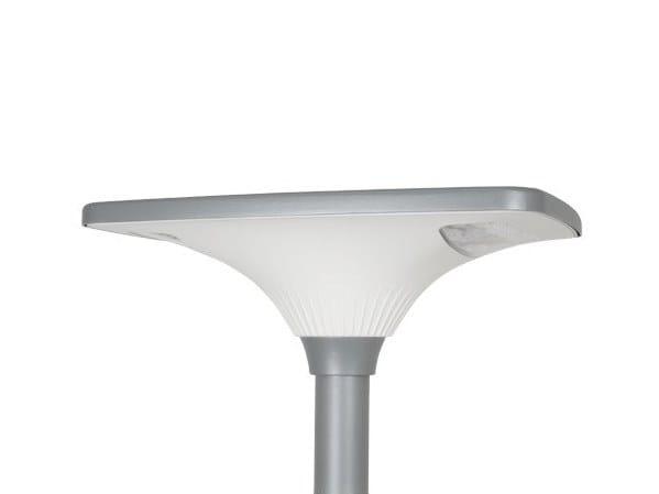 Lampione stradale a LED su palo in alluminio LIKE by GHM-ECLATEC