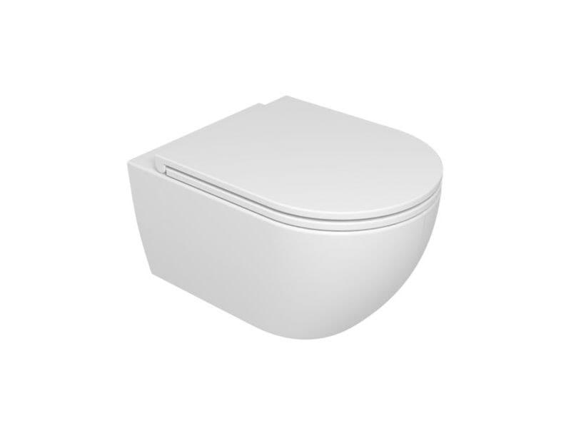 Vaso sospeso LIKE WC SOSPESO | Bianco lucido by GSG Ceramic Design Srl